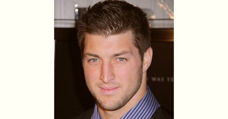 Footballplayer Tim Tebow Age and Birthday