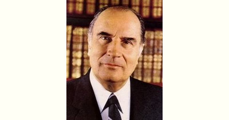 Francois Mitterrand Age and Birthday