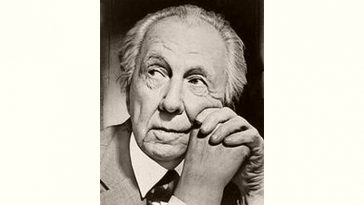 Frank Lloyd Wright Age and Birthday
