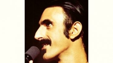 Frank Zappa Age and Birthday