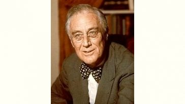 Franklin D. Roosevelt Age and Birthday
