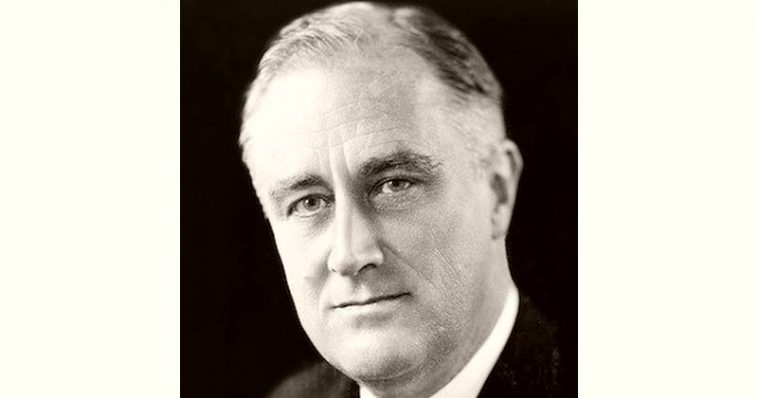 Franklin Roosevelt Age and Birthday