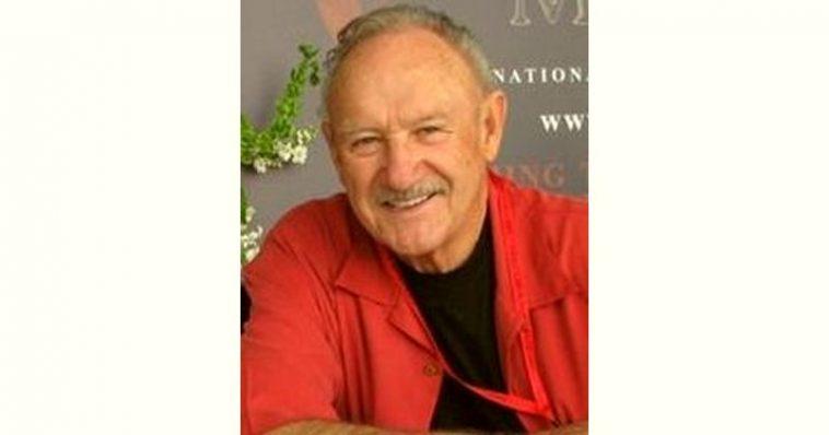Gene Hackman Age and Birthday