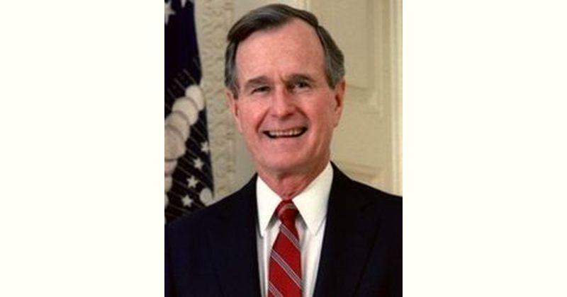 George H. W. Bush Age and Birthday
