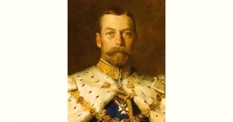 George V Age and Birthday