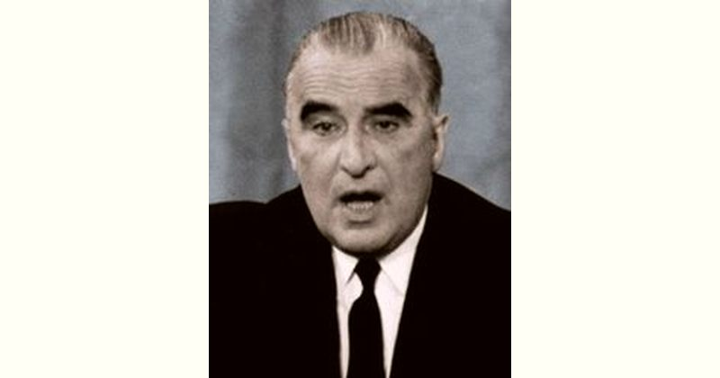 Georges Pompidou Age and Birthday