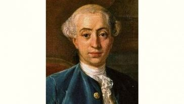 Giacomo Casanova Age and Birthday
