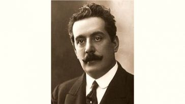 Giacomo Puccini Age and Birthday
