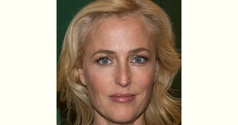 Gillian Anderson Age and Birthday