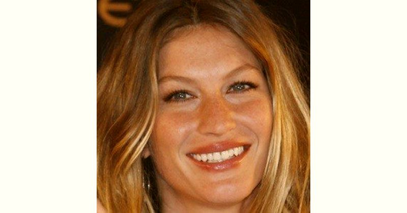 Gisele Bundchen Age and Birthday