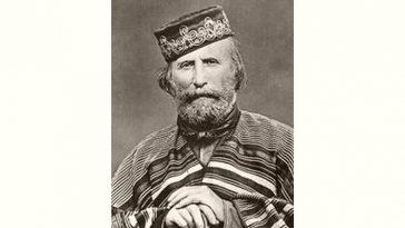 Giuseppe Garibaldi Age and Birthday