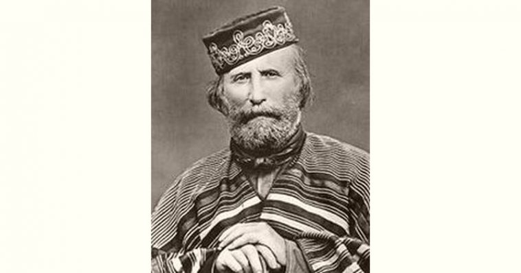 Giuseppe Garibaldi Age and Birthday