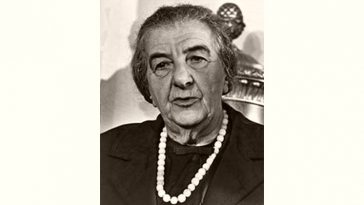Golda Meir Age and Birthday