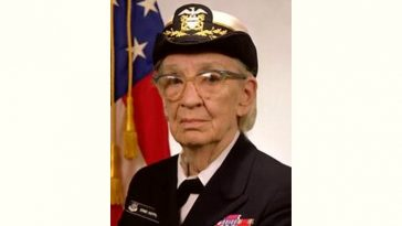 Grace Hopper Age and Birthday