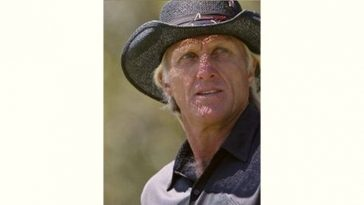 Greg Norman Age and Birthday