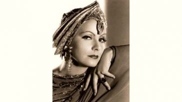 Greta Garbo Age and Birthday