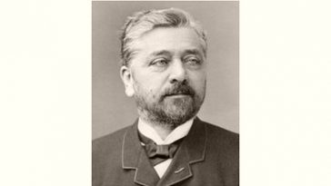 Gustave Eiffel Age and Birthday