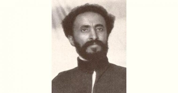 Haile Selassie Age and Birthday