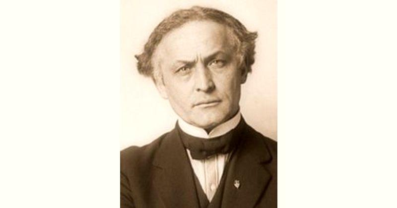 Harry Houdini Age and Birthday