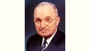 Harry Truman Age and Birthday