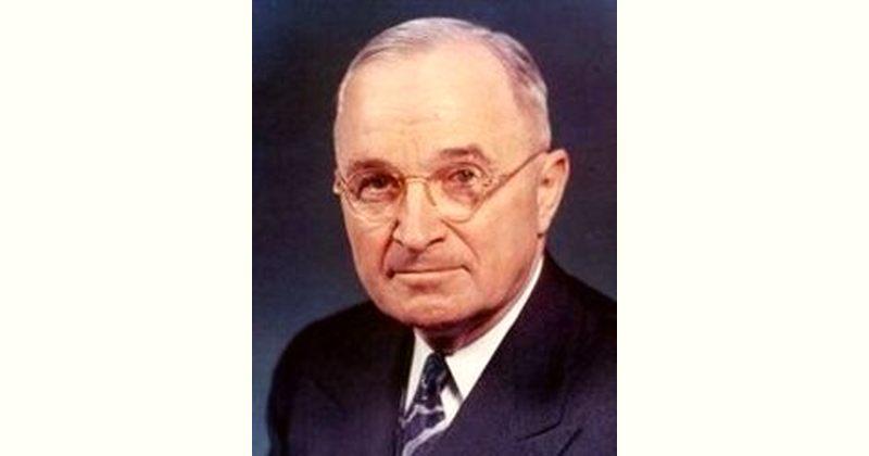 Harry Truman Age and Birthday