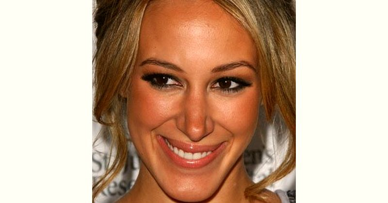 Haylie Duff Age and Birthday