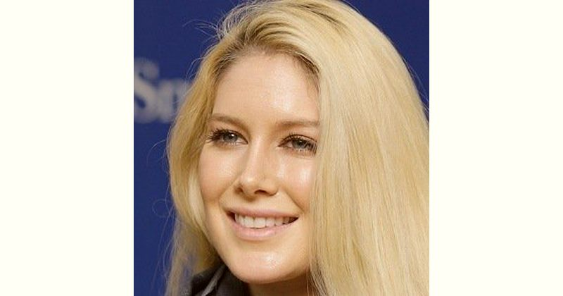 Heidi Montag Age and Birthday