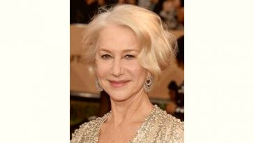 Helen Mirren Age and Birthday