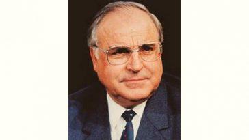 Helmut Kohl Age and Birthday