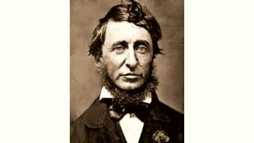 Henry David Thoreau Age and Birthday
