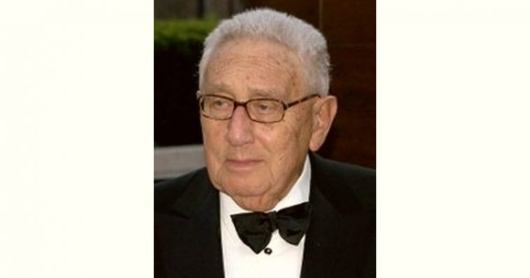 Henry Kissinger Age and Birthday