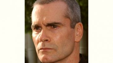 Henry Rollins Age and Birthday