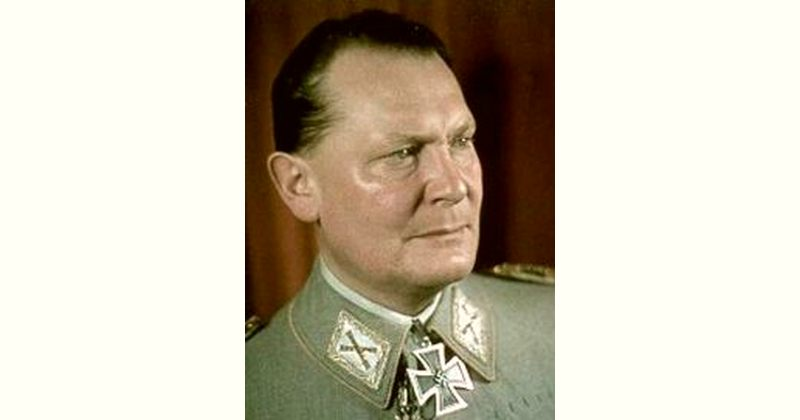 Hermann Goering Age and Birthday