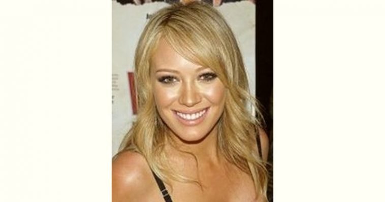 Hilary Duff Age and Birthday