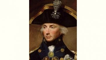 Horatio Nelson Age and Birthday