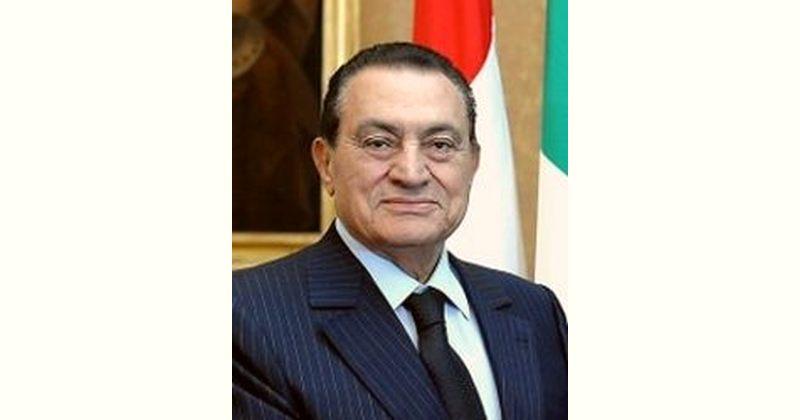 Hosni Mubarak Age and Birthday