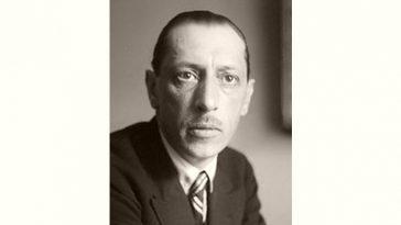 Igor Stravinsky Age and Birthday