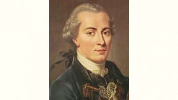 Immanuel Kant Age and Birthday