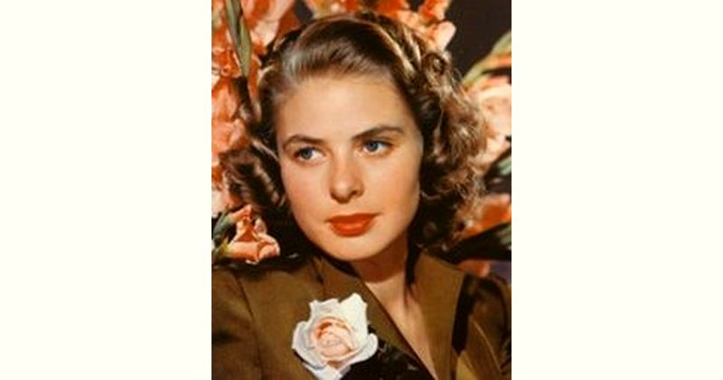 Ingrid Bergman Age and Birthday