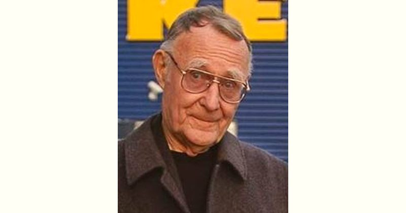 Ingvar Kamprad Age and Birthday