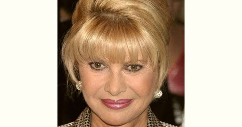 Ivana Trump Age and Birthday
