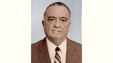 J. Edgar Hoover Age and Birthday