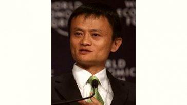 Jack Ma Age and Birthday