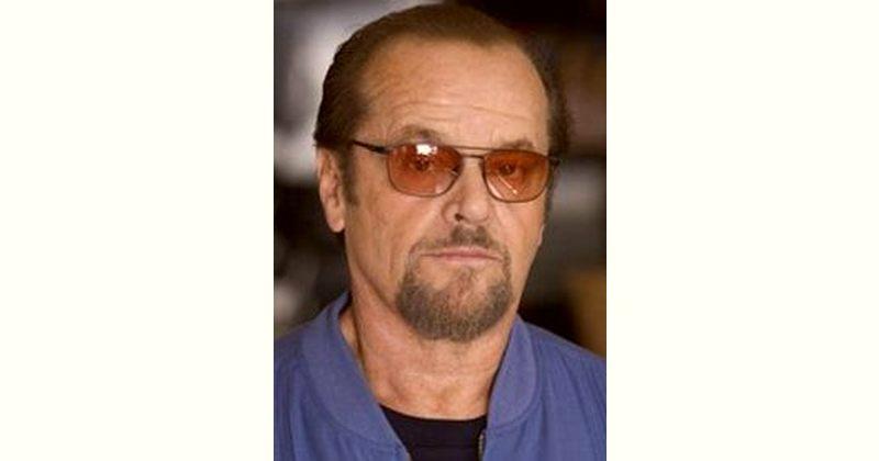 Jack Nicholson Age and Birthday