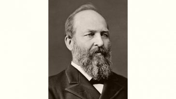 James Garfield Age and Birthday