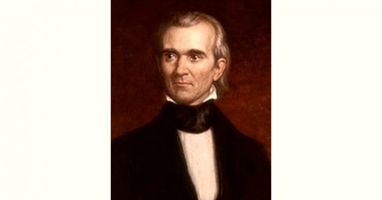 James Knox Polk Age and Birthday