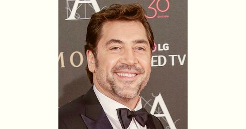 Javier Bardem Age and Birthday