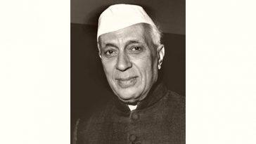 Jawaharlal Nehru Age and Birthday