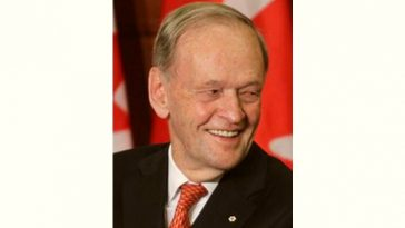 Jean Chretien Age and Birthday