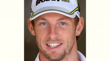 Jenson Button Age and Birthday
